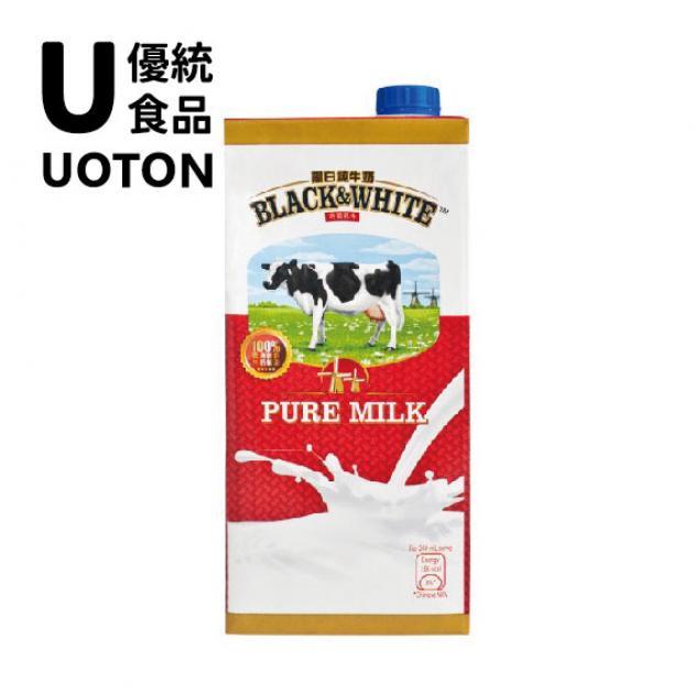 菲仕蘭黑白全脂純牛奶 1