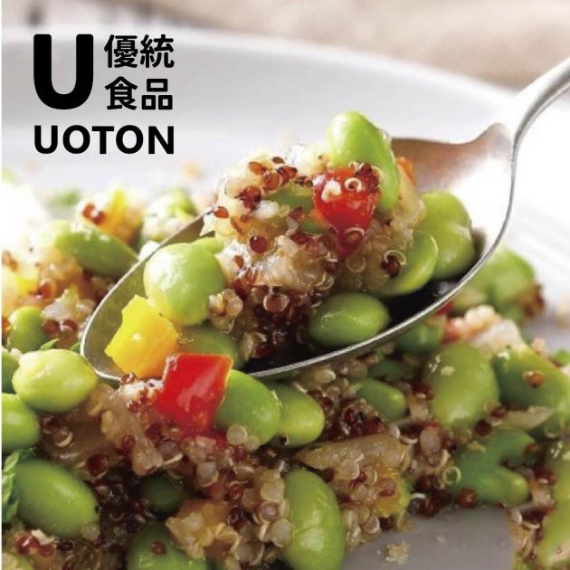[優統食品]藜麥毛豆沙拉 和風柚子口味-140g/包 1